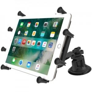 """Support X-Grip® avec double ventouses à dépression pour tablette de 9 à 10"""""""