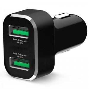 Chargeur allume cigare USB 2 ports GDS®