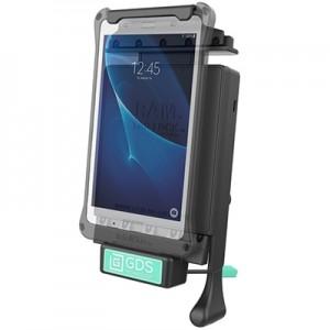 """Berceau d'accueil sécurisé à clé technologie GDS® pour Samsung Galaxy TAB A 7.0"""""""