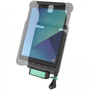 """Berceau d'accueil sécurisé à clé technologie GDS® pour Samsung Galaxy TAB S3 9.7"""""""