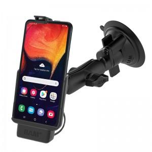 Support à ventouse RAM ® EZ-Roll'r ™ pour Samsung XCover Pro