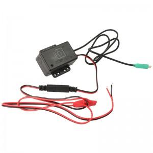 Chargeur d'alimentation USB GDS® Hardwire de type C avec connecteur mâle