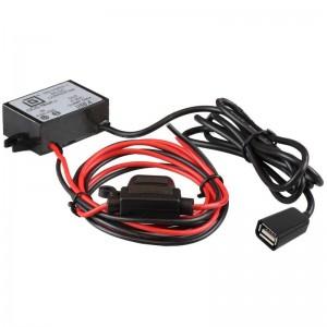 Chargeur convertisseur GDS™ 8-40V DC à 5V et 9V DC avec connecteur USB femelle type A