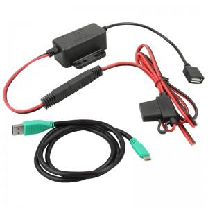 Chargeur convertisseur GDS™ 8-40V DC à 5V/2.5A modulaire USB Type C