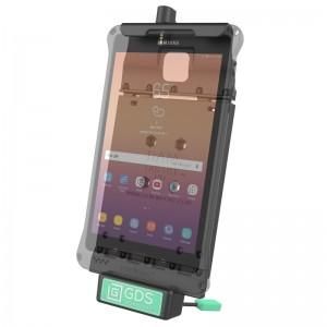 """Berceau d'accueil  technologie GDS® avec câble de raccordement audio pour Samsung Galaxy Tab A 8.0"""" (2017)"""