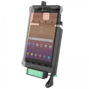 """Berceau d'accueil sécurisé à clé technologie GDS® avec câble de raccordement audio pour Samsung Galaxy Tab A 8.0"""" (2017)"""