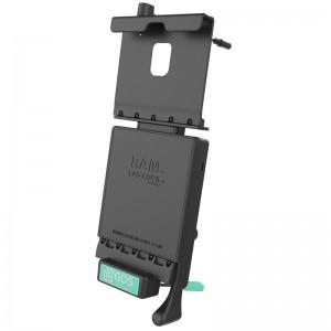 Station d' accueil pour véhicule GDS ® avec câble audio pour Samsung Tab A 10.5