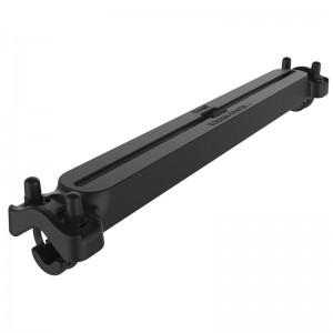 RAM ® Tough-Track ™ - Rail de 45.72 cm pour tubes, de 1.59 cm à 3.175 cm.