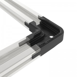 Connecteur RAM ® 90° pour rail aluminium modulaire RAM ® Tough-Track ™